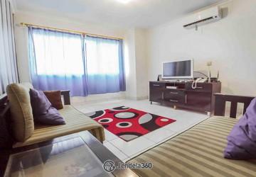 Permata Senayan Apartment 2BR View city