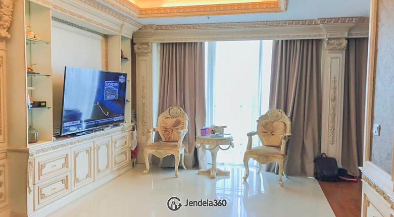 Living room Apartemen Ancol Mansion Apartment