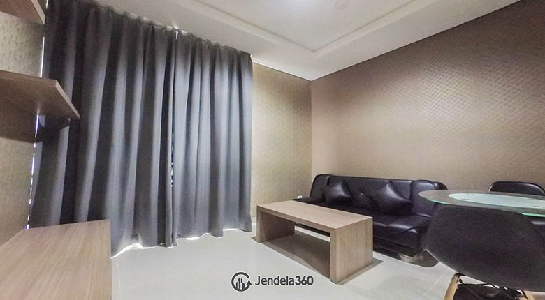 living room Apartemen Ciputra International Puri