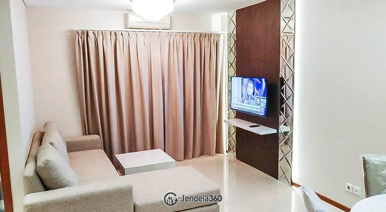 living room Apartemen Thamrin Residence Apartment
