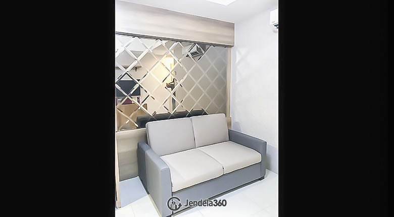 living room Apartemen The Mansion Kemayoran Jasmine