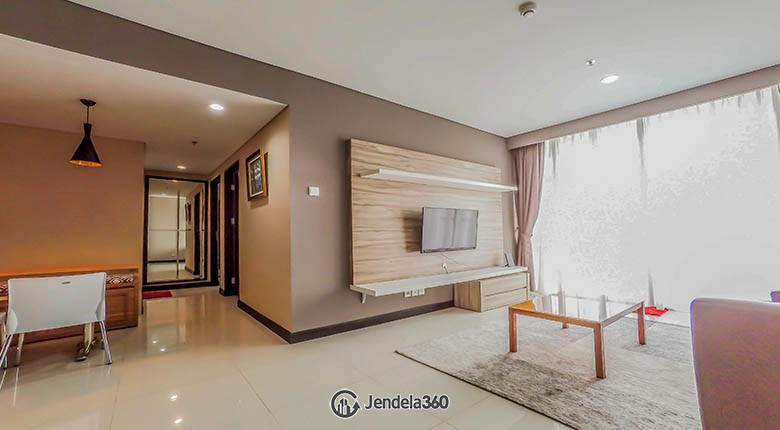 living room Apartemen Lexington Residences