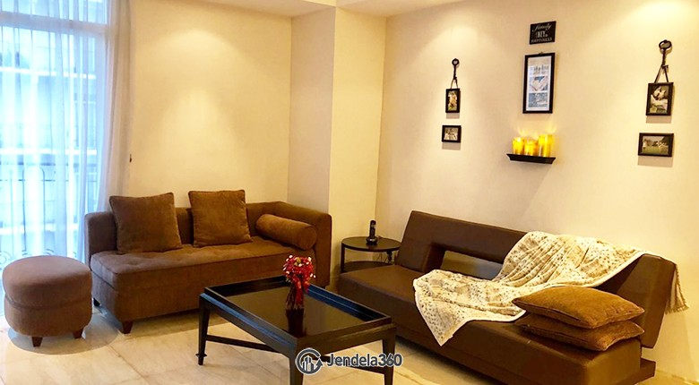 living room Apartemen Menteng Executive Apartment