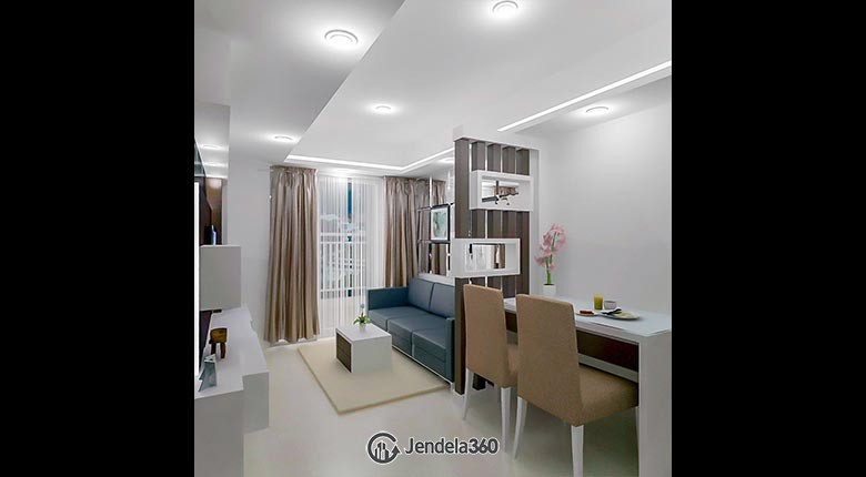 living room Apartemen The H Residences