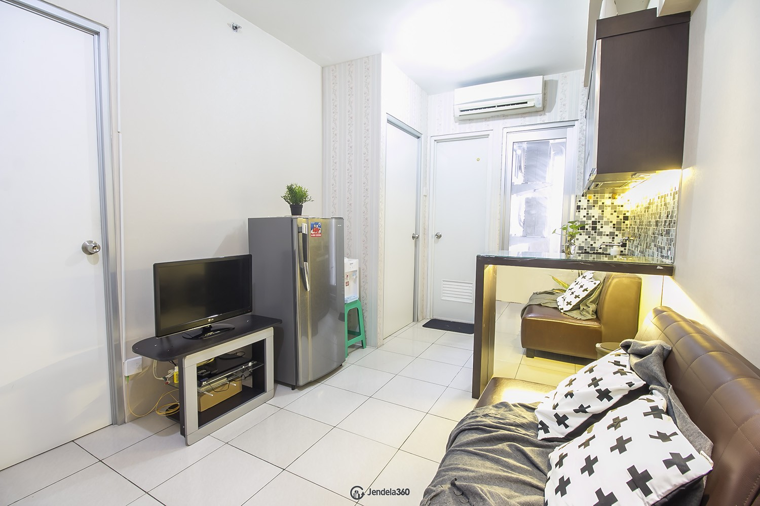 Living Room Apartemen Green Bay Pluit Apartment