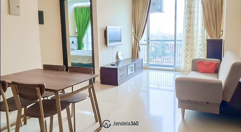 living room CBD Pluit Apartment