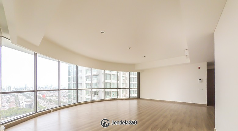 living room Apartemen ST Moritz Apartment