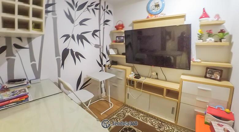 living room Apartemen The Mansion Kemayoran Bougenville