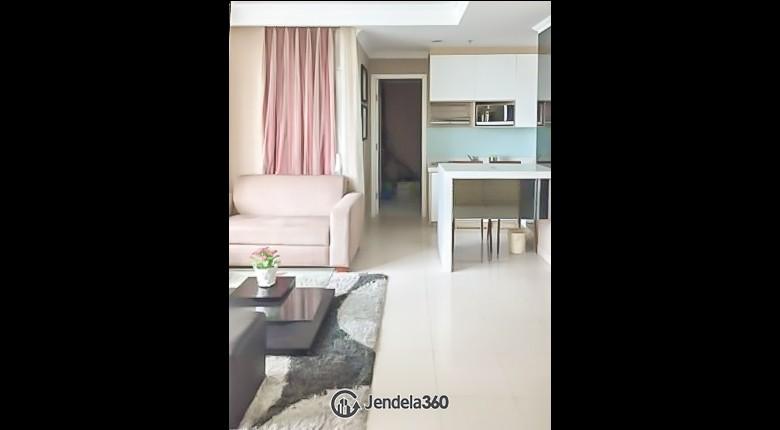 Living Room Kuningan Place Apartment