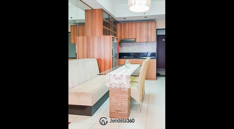 Living Room Apartemen Salemba Residence