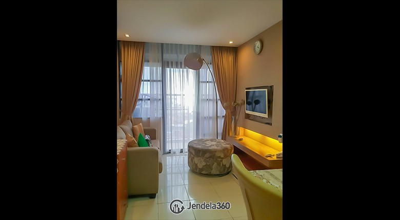 Living Room Salemba Residence Apartment