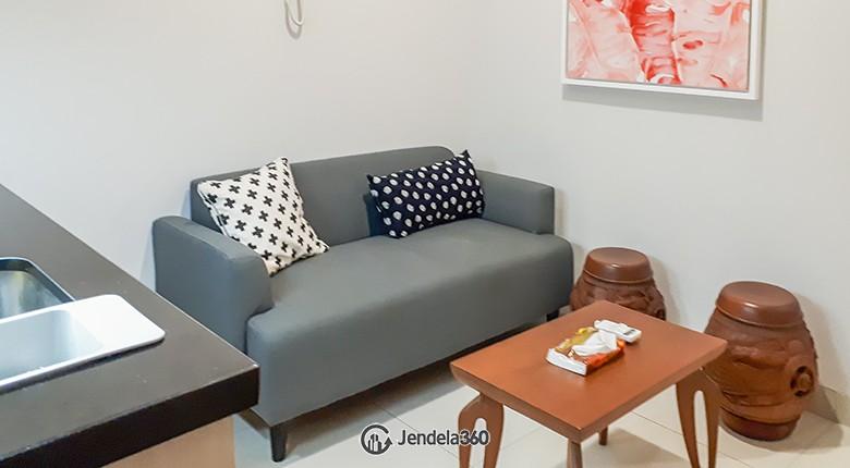 Living Room The Mansion Kemayoran Bougenville Apartment
