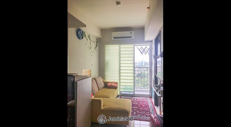 Living Room Apartemen Serpong Green View Apartment