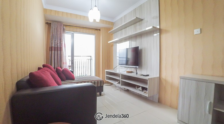 Living Room Cosmo Mansion - Thamrin City