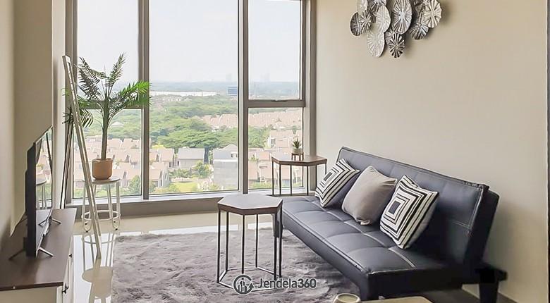 Living Room Branz BSD Apartment Apartment