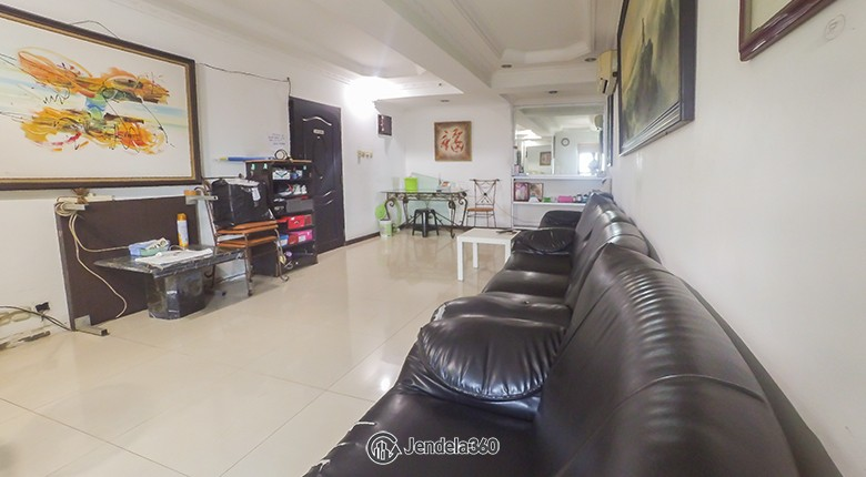 Living Room Condominium Rajawali Apartment