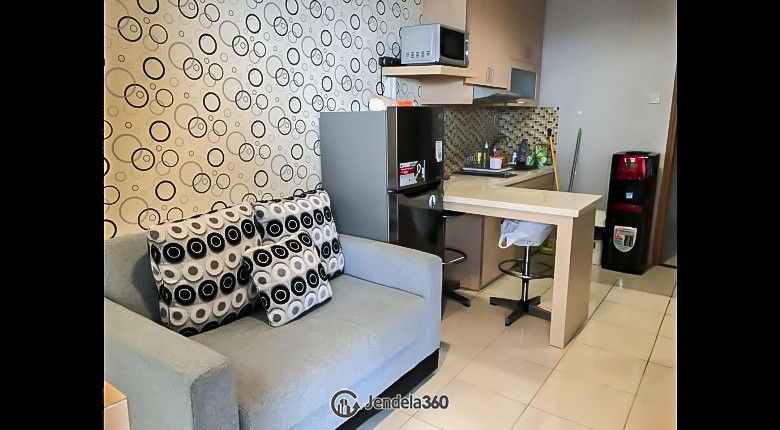 Living Room Apartemen Cinere Bellevue Suites Apartment