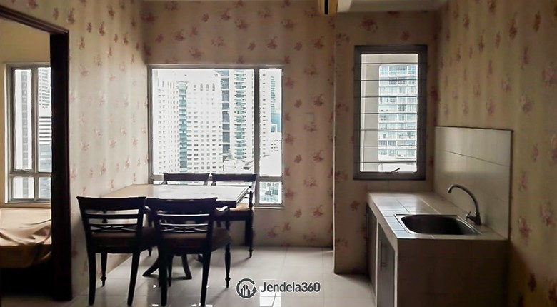 Living Room Sudirman Park Apartment Apartment