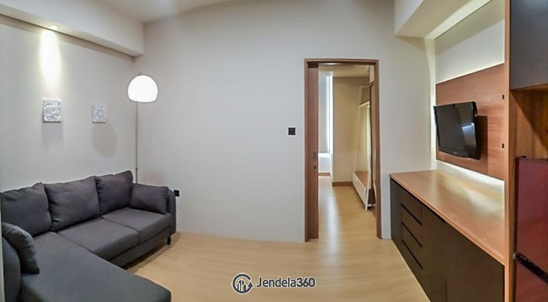 Living Room Apartemen Skandinavia TangCity Apartment