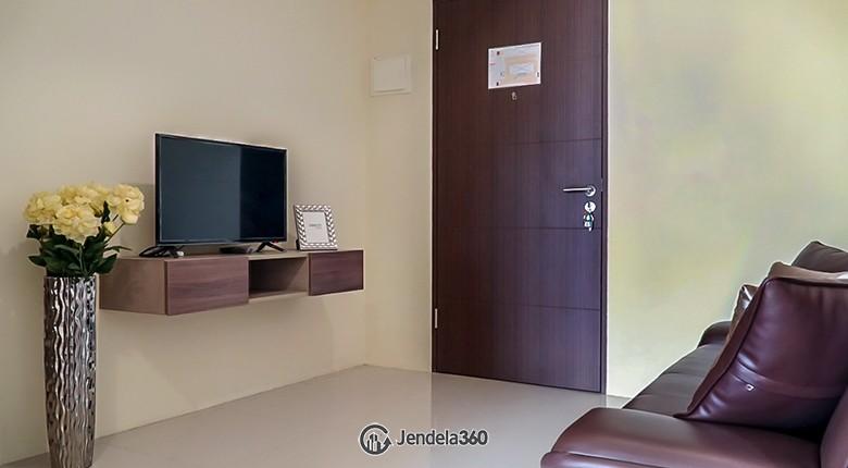 Living Room Bandara City Apartment