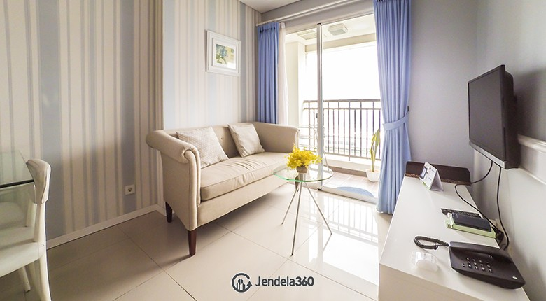 Living Room Thamrin Executive Residence Apartment