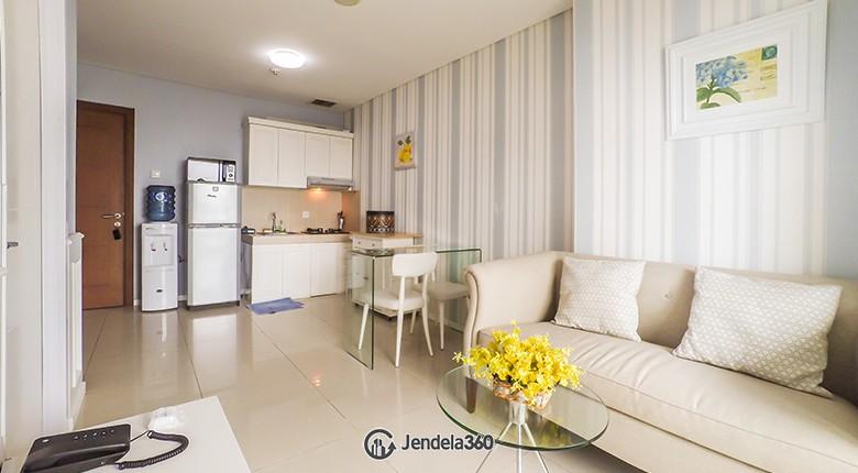 Living Room Apartemen Thamrin Executive Residence