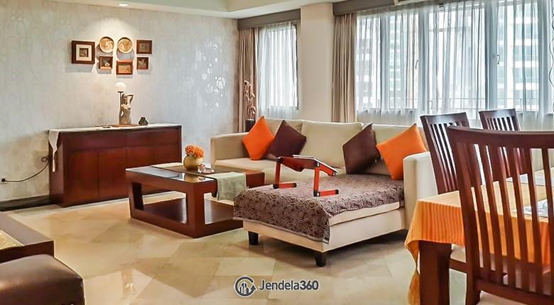 Living Room Setiabudi Apartment Apartment