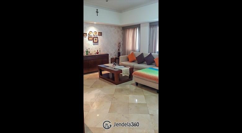 Living Room Apartemen Setiabudi Apartment