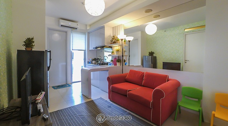 Living Room Bassura City Apartment Apartment