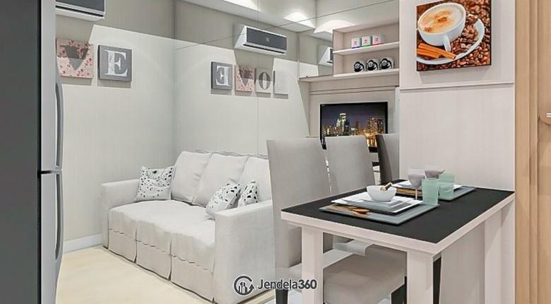 Living Room The Mansion Kemayoran Bougenville