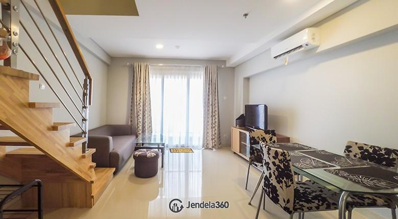 Living Room Apartemen Maqna Residence