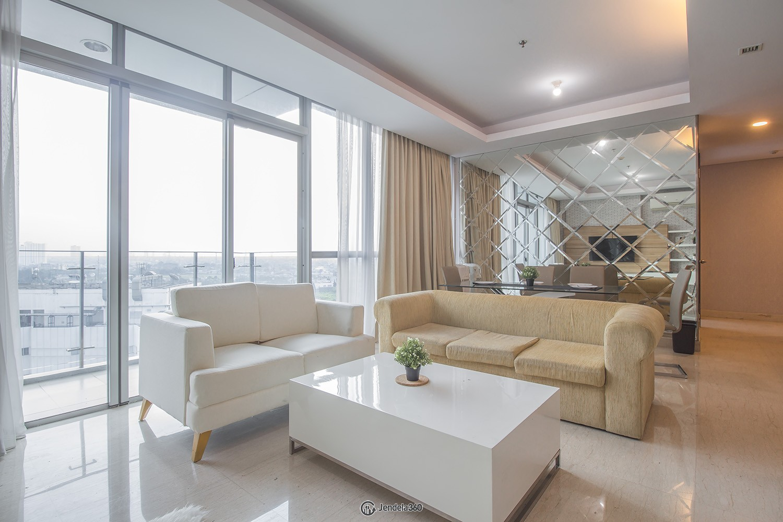 Living Room Apartemen The Windsor