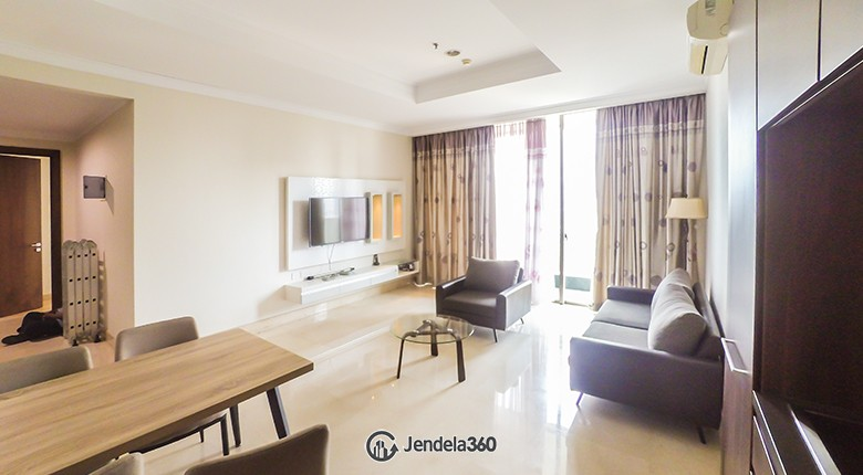 Living Room Apartemen Residence 8 Senopati