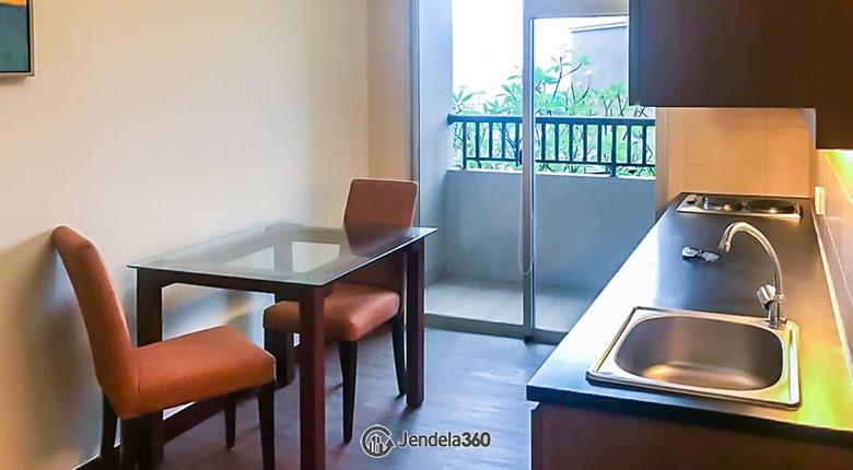 Living Room Apartemen Mediterania Marina Ancol Apartment
