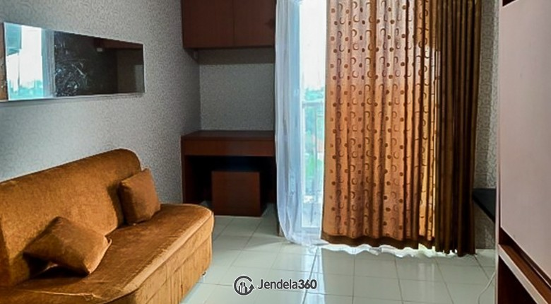Living Room Apartemen Serpong Green View Apartment