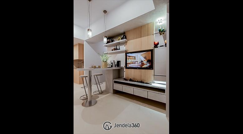 Living Room Taman Anggrek Residence Apartment