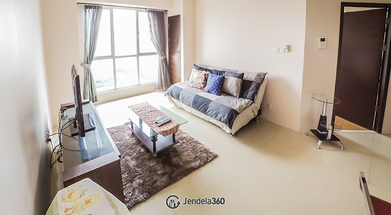 Living Room Apartemen Gandaria Heights Apartment