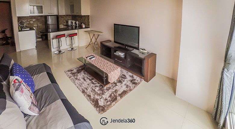 Living Room Gandaria Heights Apartment
