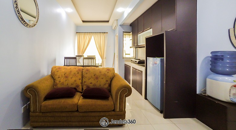 Living Room Sudirman Park Apartment