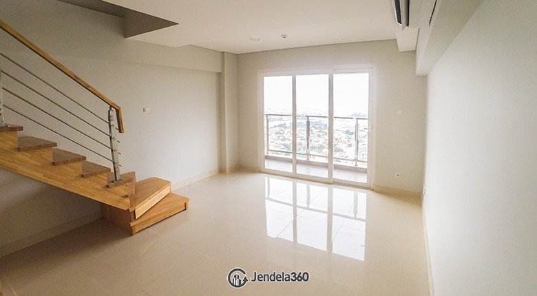Living Room Maqna Residence Apartment