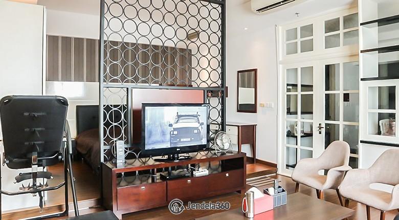 Living Room Apartemen Ascott Apartment