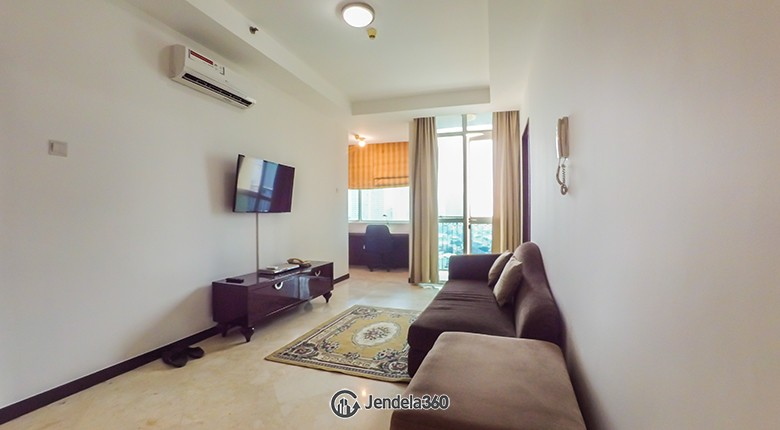 Living Room Apartemen Bellagio Residence