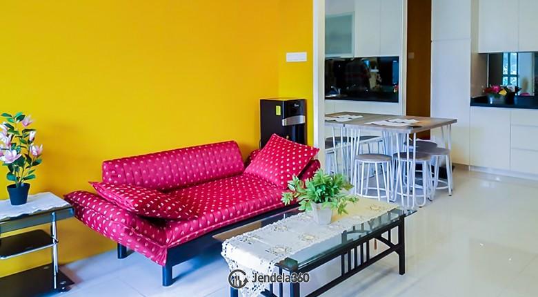 Living Room 1 Park Residences