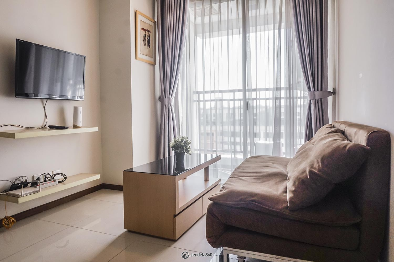 Living Room Thamrin Executive Residence