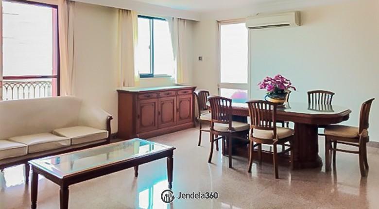 Living Room Nuansa Hijau (Green View) Apartment Apartment