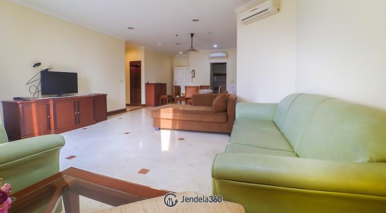 Living Room Apartemen Permata Gandaria Apartment