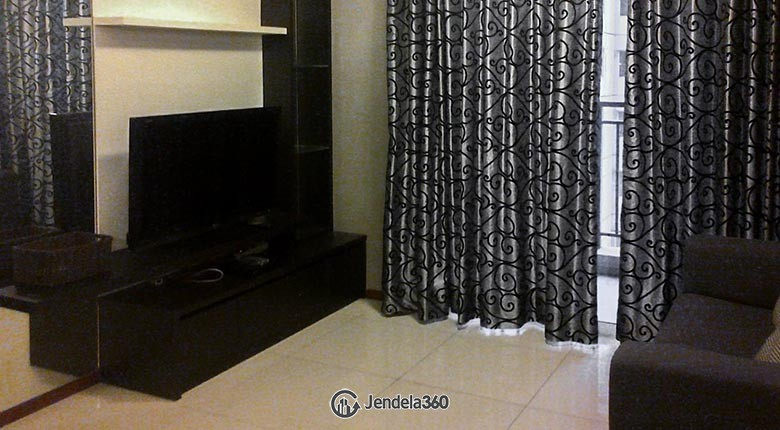 Living Room Apartemen Thamrin Residence Apartment