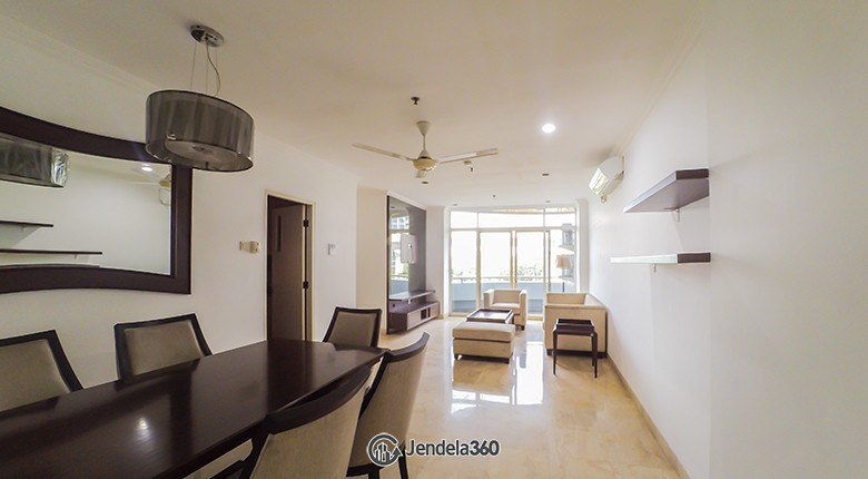 Living Room Apartemen Parama Apartment