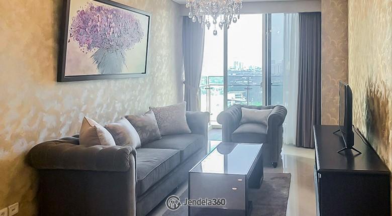 Living Room Pondok Indah Residence Apartment