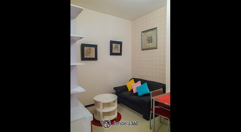 Living Room Thamrin Residence Apartment